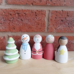 Christmas set 6cm
