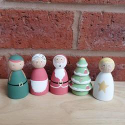 Christmas set (6cm)
