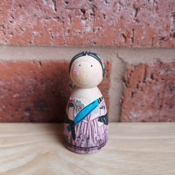 Custom Historical peg doll