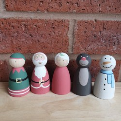 Christmas set (7cm)